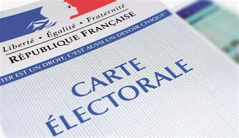Demande d'inscription sur les listes électorales