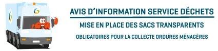 Infos pratiques service déchets